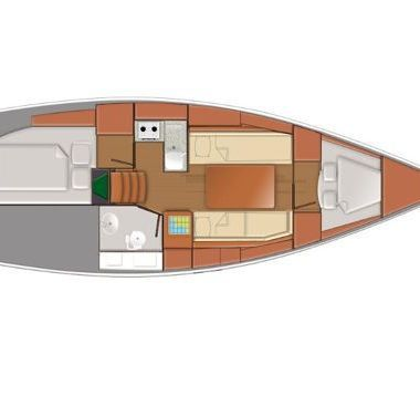 Sailboat Jeanneau Sunsail 319 (2019)-2
