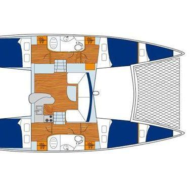 Catamaran Leopard Sunsail 404 (2020)-2