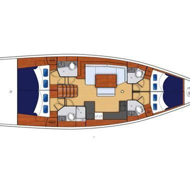 Sailboat Beneteau Moorings 48.4 (2018)-2