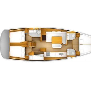 Segelboot Jeanneau Sun Odyssey 519 (2018)-4