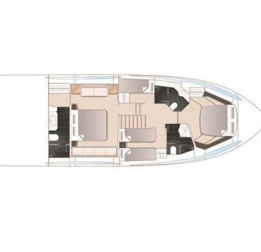 Imbarcazione a motore Princess S65 (2018)-4