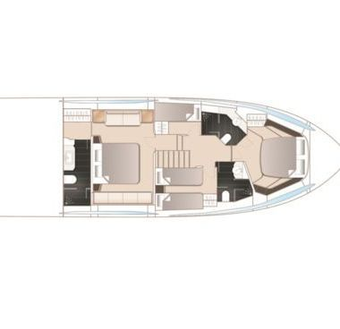 Motor boat Princess S65 (2018)-4
