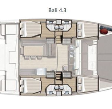 Catamaran Bali 4.3 (2020)-2