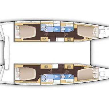 Catamaran Lagoon 42 (2020)-2