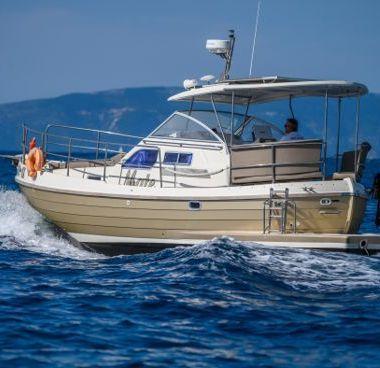 Imbarcazione a motore Sasanka Courier 970 - 2008 (raddobbo 2020)-2