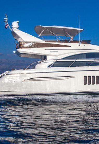 Motor boat Princess 62 Fly (2009)-3