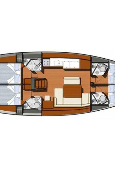 Barca a vela Jeanneau Sun Odyssey 49 i (2010)-3