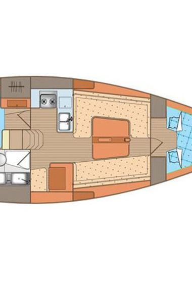 Barca a vela Elan 340 (2010)-3