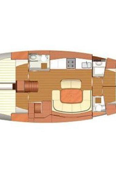 Barca a vela Dufour 455 Grand Large (2008)-3