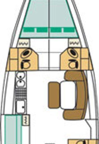 Sailboat Beneteau Cyclades 50.5 (2008)-3