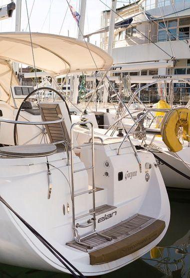 Zeilboot Elan Impression 384 (2005)-3