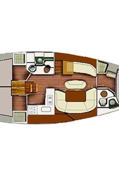 Barca a vela Jeanneau Sun Odyssey 40 (2002)-3