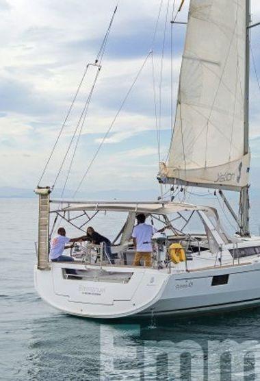 Zeilboot Beneteau Oceanis 48 (2014)-3