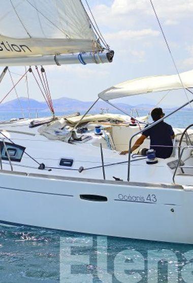 Sailboat Beneteau Oceanis 43 (2008)-3