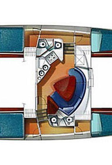 Catamaran Fountaine Pajot Lavezzi 40 (2004)-3