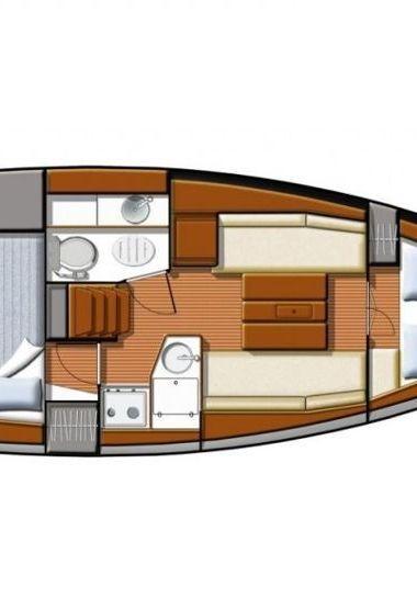 Barca a vela Jeanneau Sun Odyssey 30 i (2012)-3