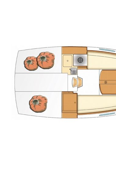 Sailboat Beneteau First 25 S (2013)-3