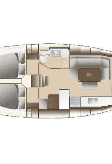 Barca a vela Dufour 375 (2012)-3