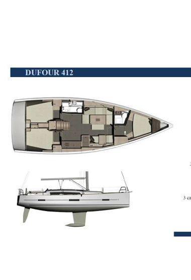 Barca a vela Dufour 412 (2016)-3