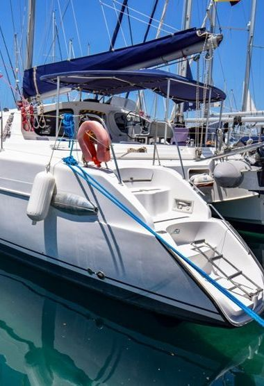 Catamaran Fountaine Pajot Belize 43 Quatuor (2004)-3