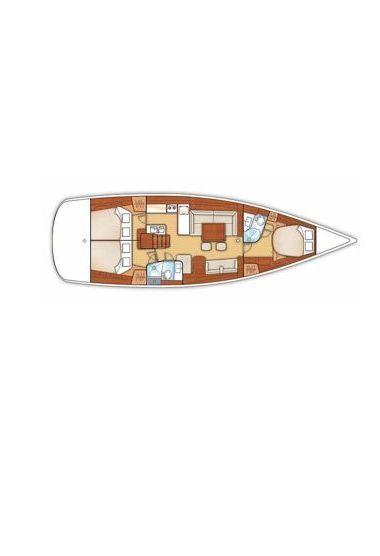 Barca a vela Beneteau Oceanis 50 (2010)-3
