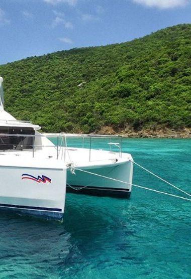 Motor Catamaran Leopard Moorings 433 (2018)-3
