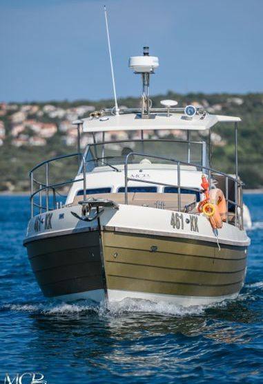 Imbarcazione a motore Sasanka Courier 970 - 2008 (raddobbo 2020)-3
