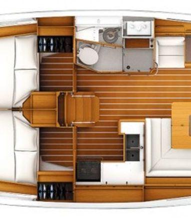 Sailboat Jeanneau Sun Odyssey 449 (2016) (3)