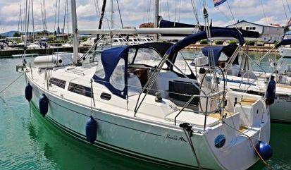 Sailboat Hanse 350 (2009)