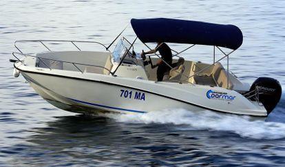 Speedboat Quicksilver 675 Open (2014)
