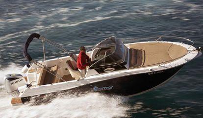 Speedboat Atlantic Marine 730 Sun Cruiser (2014)
