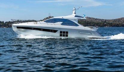 Motor boat Azimut 55 S (2015)