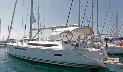 Sailboat Jeanneau Sun Odyssey 509 (2014)