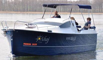 Motor boat Nexus 850 (2012)