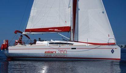 Zeilboot Elan 350 (2012)