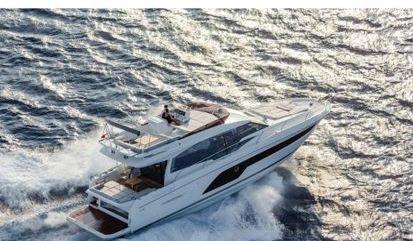 Motor boat Prestige 590 Fly (2019)