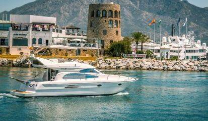 Motor boat Astondoa 40 (2005)