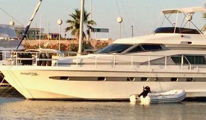 Motor boat Astondoa 50 GLX (1993)