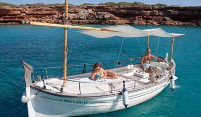 Barco a motor Menorquin Solarium 31 (2007)