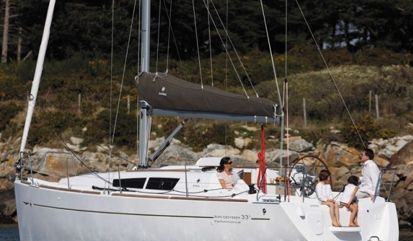 Sailboat Jeanneau Sun Odyssey 33 i (2014)
