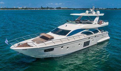 Motorboot Azimut 78 Flybridge (2015)