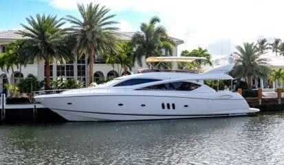 Motor boat Sunseeker 76 (2017)
