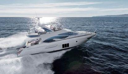 Barco a motor Azimut 54 (2013)
