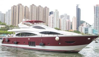 Barco a motor Custom Build Luxury (2012)