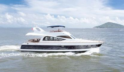 Barco a motor Custom Build Luxury (2008)