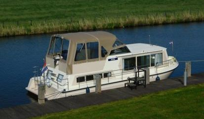 Barco a motor Safari Houseboat 1050 (2000)