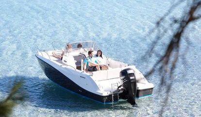 Speedboat Quicksilver 675 Sundeck (2000)