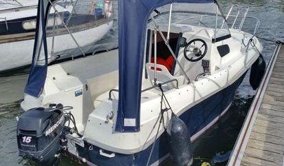 Motor boat Quicksilver 450 Cabin (2014)