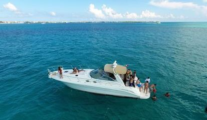 Motor boat Sea Ray 400 Sundancer (2006)