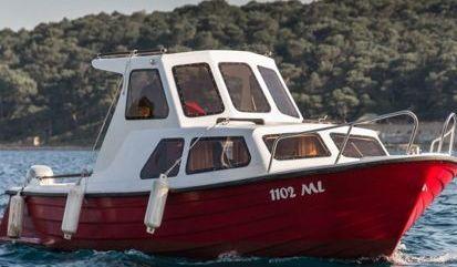 Imbarcazione a motore Adria 690 (1986)